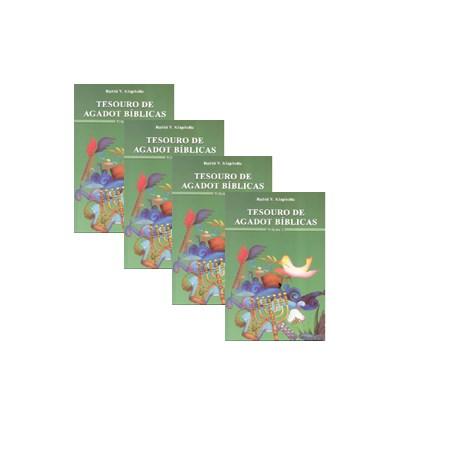 Tesouro de Agadot Bíblicas (4 vols.)
