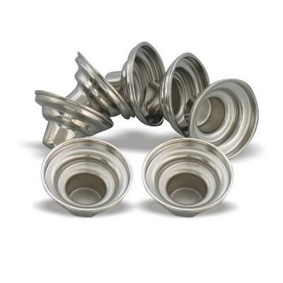 Suporte de alumínio para castiçal