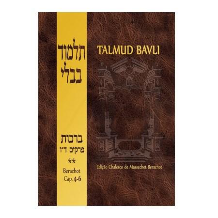 Talmud Bavli - Berachot 2 (capítulos 4-6)