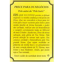 Prece para os Negócios Português e Hebraico