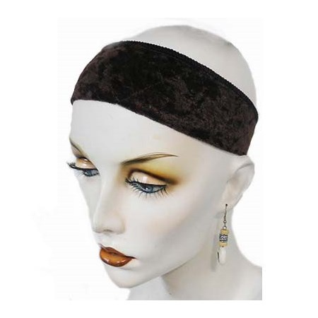 Faixa de Veludo para peruca ou lenço