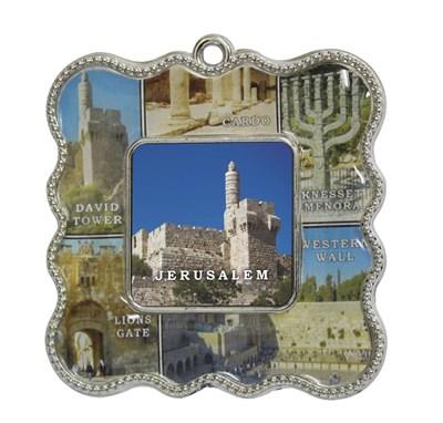 Mini porta retrato Jerusalém