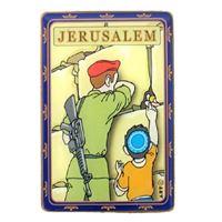 Imã soldado israelense no Kotel
