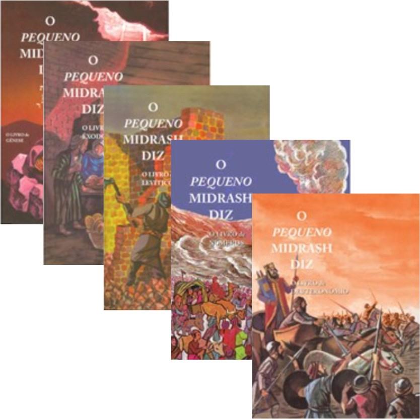 Coleção O Pequeno Midrash Diz (5 volumes)