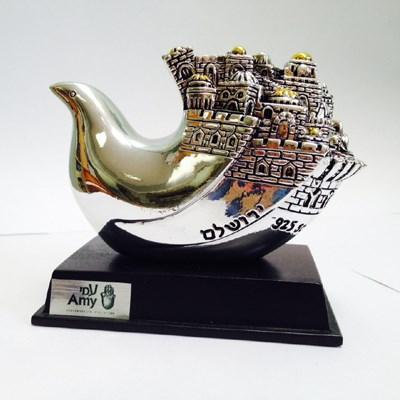 Escultura pomba Jerusalem