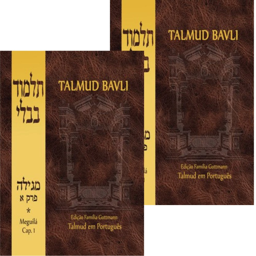 Talmud Bavli - Meguil� Completo (2 volumes)