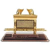 Miniatura arca da aliança dourada