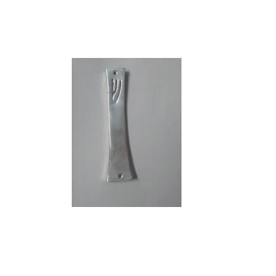 Mezuzá aluminio ondulada