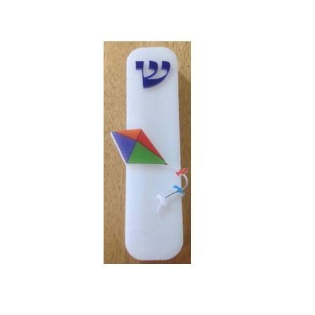 Mezuzá infantil acrilico pipa
