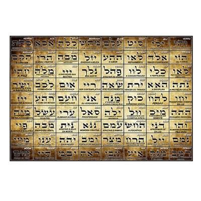 Poster 72 nomes divinos