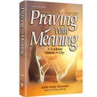 Praying with Meaning