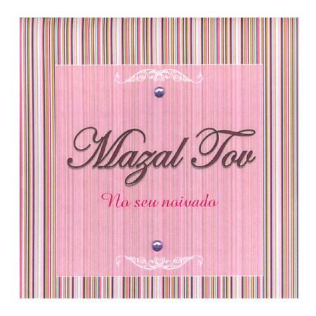 Cartão Mazal tov noivado