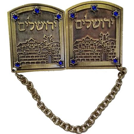 Prendedor de Talit Jerusalém