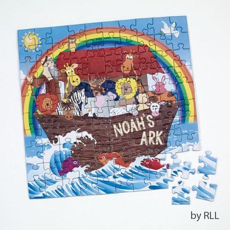 Quebra cabeça 100 peças Arca de Noé