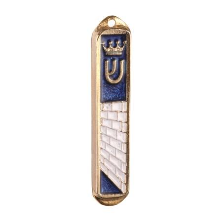 Mezuzá simbólica para carro esmaltada