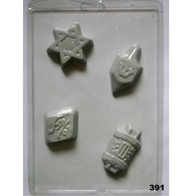 Forma chocolate SÍMBOLOS - 4 símbolos (391