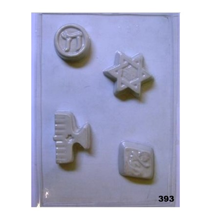 Forma chocolate SÍMBOLOS - 4 símbolos (393)