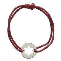 Pulseira aço Estrela de David