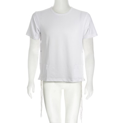 Tsitsit Camiseta Dry Fit Branca