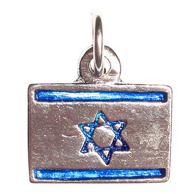 Pingente mini bandeira de Israel