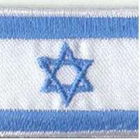 Mini bandeira de tecido - Tamanho 4x2,5 cm.