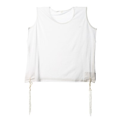 Tsitsit Camiseta Infantil - Tamanho 10